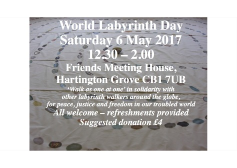 World Labyrinth Day 2017 flyer